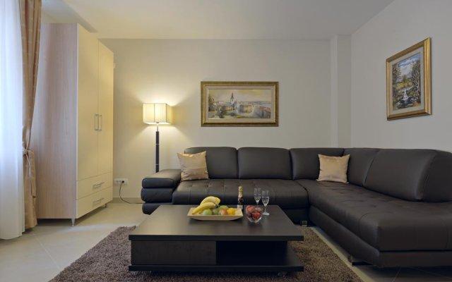 Апартаменты Apartments Jevtic Белград комната для гостей