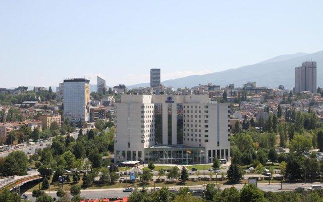 Отель Hilton Sofia балкон
