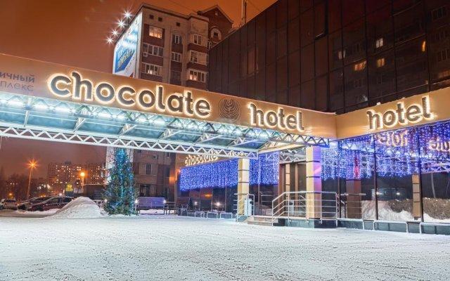 Гостиница Шоколад вид на фасад
