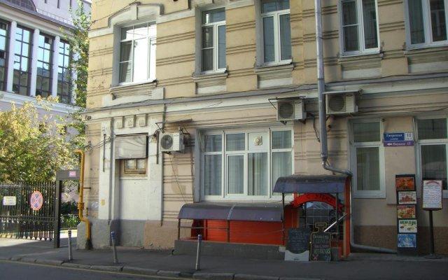 Гостиница Inga Hotels Moscow вид на фасад