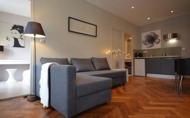 Отель Appartements Hôtel de Ville Франция, Лион - отзывы, цены и фото номеров - забронировать отель Appartements Hôtel de Ville онлайн комната для гостей