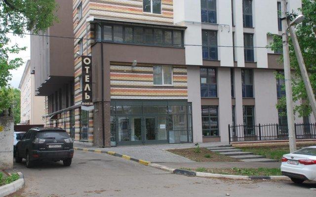 Гостиница Вояж вид на фасад
