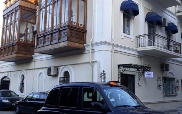Отель Baku Palace Hotel Азербайджан, Баку - отзывы, цены и фото номеров - забронировать отель Baku Palace Hotel онлайн вид на фасад