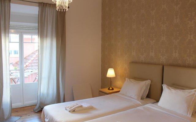 Отель The Sky Lofts Lisbon - Guesthouse комната для гостей