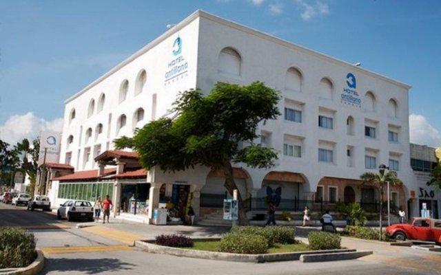 Отель Antillano Мексика, Канкун - отзывы, цены и фото номеров - забронировать отель Antillano онлайн вид на фасад