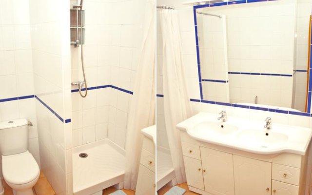 Апартаменты Mascoinat Apartment Ницца ванная