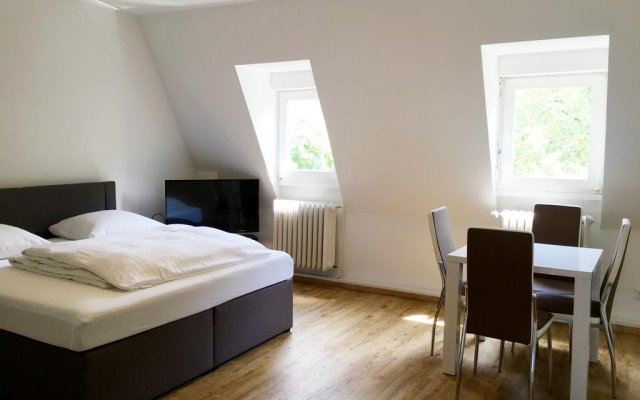 Апартаменты Old Town Apartments Cologne Кёльн комната для гостей