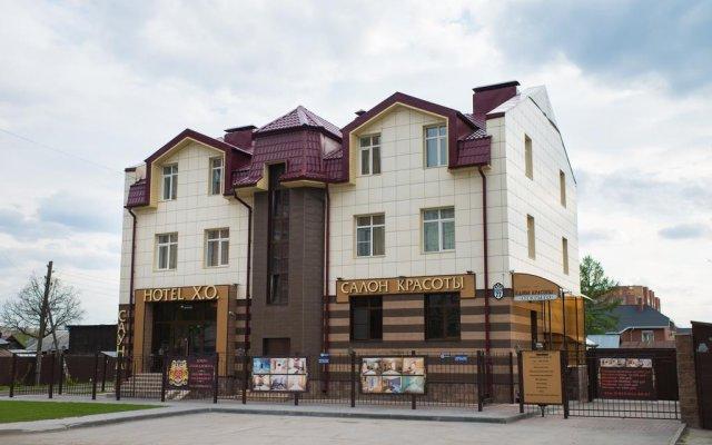 Hotel X.O Новосибирск вид на фасад