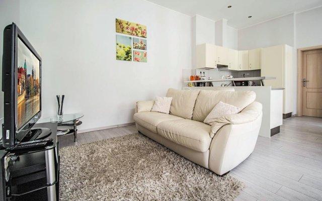 Апартаменты Ruterra Apartment Charles Bridge комната для гостей