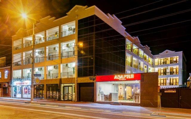 Гостиница Азария вид на фасад