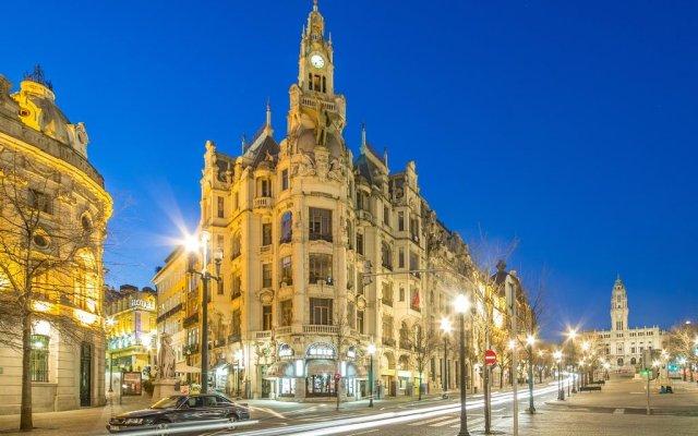 Hotel Internacional Porto вид на фасад