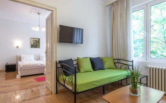 Апартаменты Apartment Belgrade Center-Resavska комната для гостей