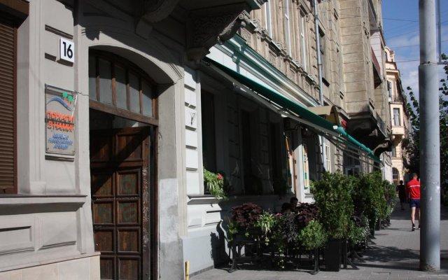 Апартаменты Park Apartment Lviv вид на фасад