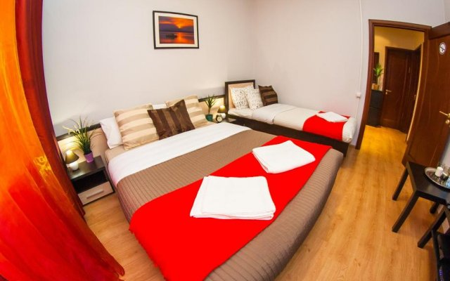 Апартаменты на Садовом Кольце Курская комната для гостей