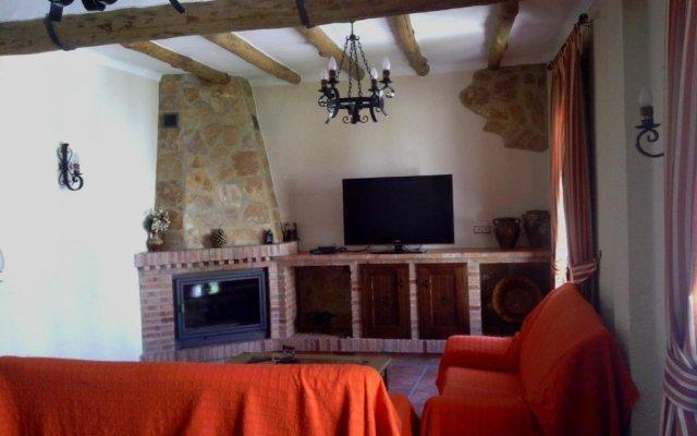 Отель Casa Rural Apartamento El Lebrillero Захара комната для гостей