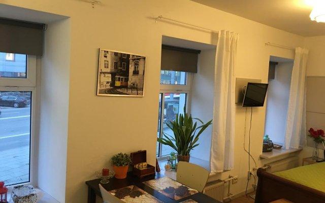 Апартаменты Lvovo Apartments комната для гостей