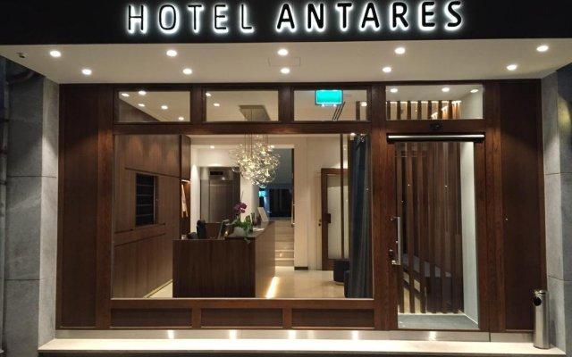 Hotel Antares вид на фасад