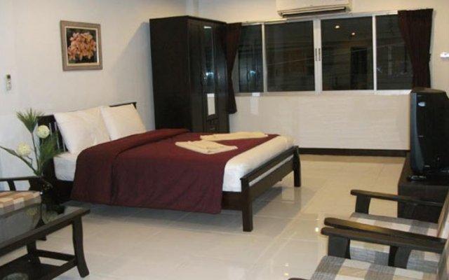 Отель Oceans 7 Beach Guesthouse комната для гостей
