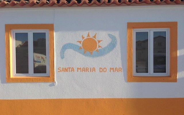 Отель Santa Maria do Mar Guest House вид на фасад