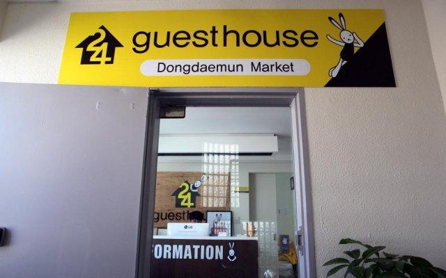 Отель 24 Guesthouse Dongdaemun Market Южная Корея, Сеул - отзывы, цены и фото номеров - забронировать отель 24 Guesthouse Dongdaemun Market онлайн вид на фасад