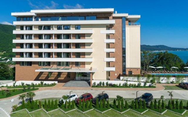 Гостиница Lavicon Apart Hotel Collection в Небуге 13 отзывов об отеле, цены и фото номеров - забронировать гостиницу Lavicon Apart Hotel Collection онлайн Небуг вид на фасад
