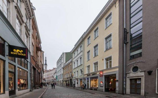 Апартаменты Best Apartments - Viru вид на фасад