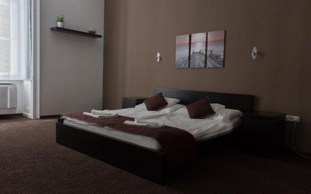 Апартаменты Budapest Center Apartments Nicole Будапешт комната для гостей