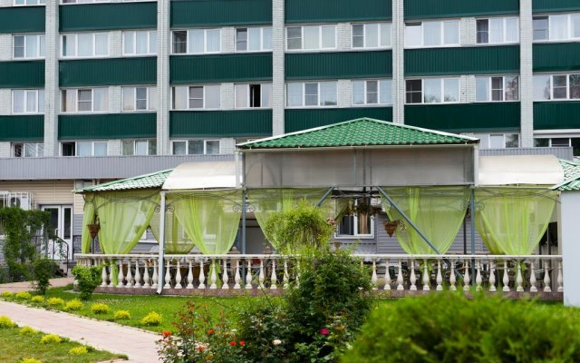 Hotel Centralnaya вид на фасад