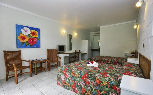 Отель Kosrae Nautilus Resort Федеративные Штаты Микронезии, Косраэ - отзывы, цены и фото номеров - забронировать отель Kosrae Nautilus Resort онлайн комната для гостей