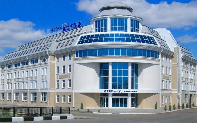 Гостиница 7 Небо вид на фасад