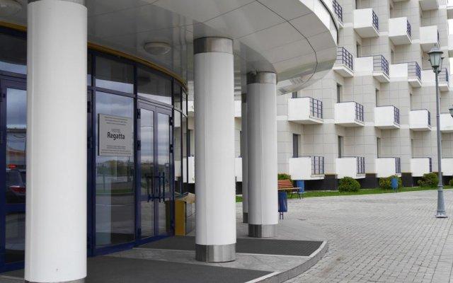 Гостиница Регатта вид на фасад