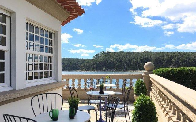 Отель Casaldomar Вилагарсия-де-Ароза балкон