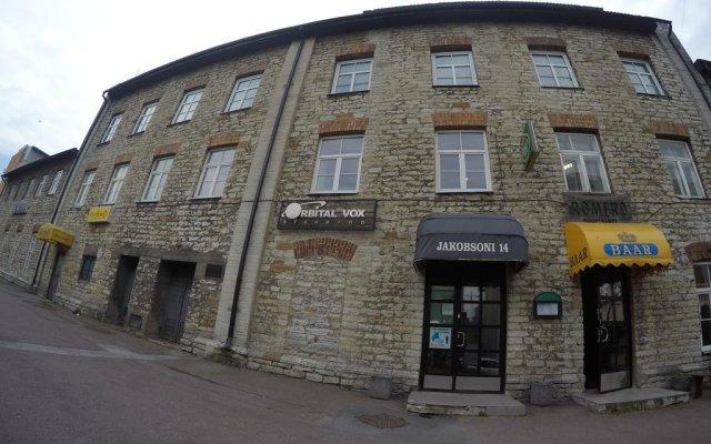 Jakobsoni Hostel вид на фасад