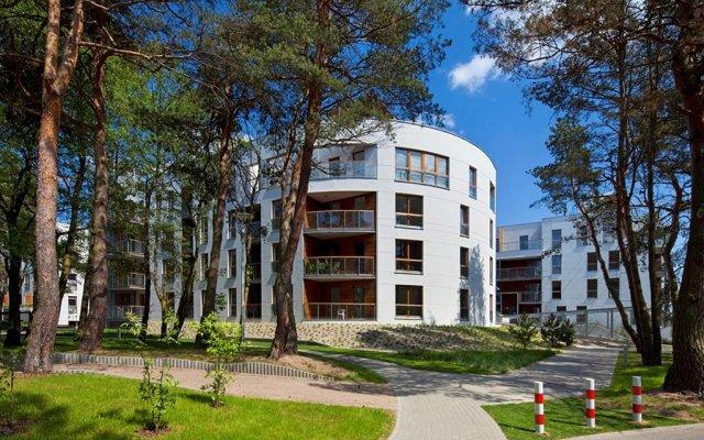 Отель Dom & House - Apartamenty Nadmorski Dwór вид на фасад