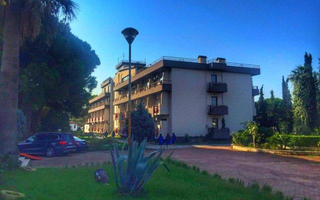 Отель Tropikal Bungalows вид на фасад