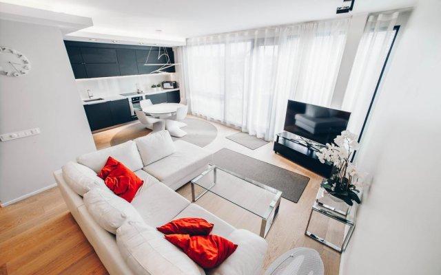 Отель Kreutzwaldi Penthouse Эстония, Таллин - отзывы, цены и фото номеров - забронировать отель Kreutzwaldi Penthouse онлайн комната для гостей