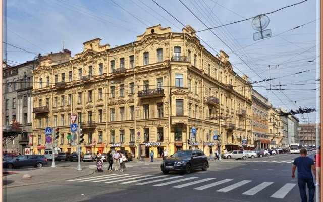 Мини-Отель Резиденция у Адмиралтейства вид на фасад