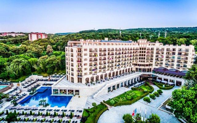 Отель LTI Dolce Vita Sunshine Resort - All Inclusive Болгария, Золотые пески - отзывы, цены и фото номеров - забронировать отель LTI Dolce Vita Sunshine Resort - All Inclusive онлайн вид на фасад