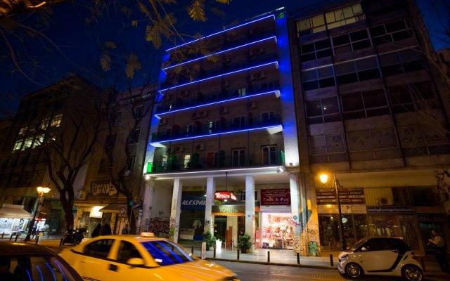 Attalos Hotel вид на фасад