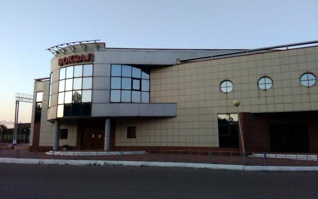 Гостиница Железногорск вид на фасад