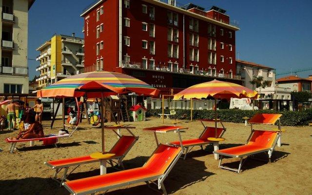 Hotel Blumen пляж