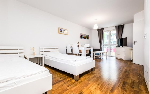 Апартаменты City Apartments Köln Кёльн комната для гостей