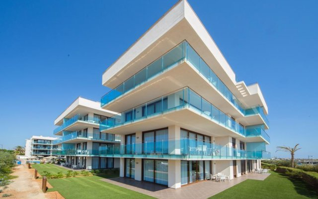 Отель Apartotel Ferrer Skyline Испания, Сьюдадела - отзывы, цены и фото номеров - забронировать отель Apartotel Ferrer Skyline онлайн вид на фасад