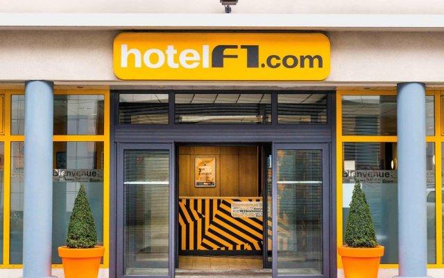 Отель hotelF1 Paris Porte de Montreuil вид на фасад