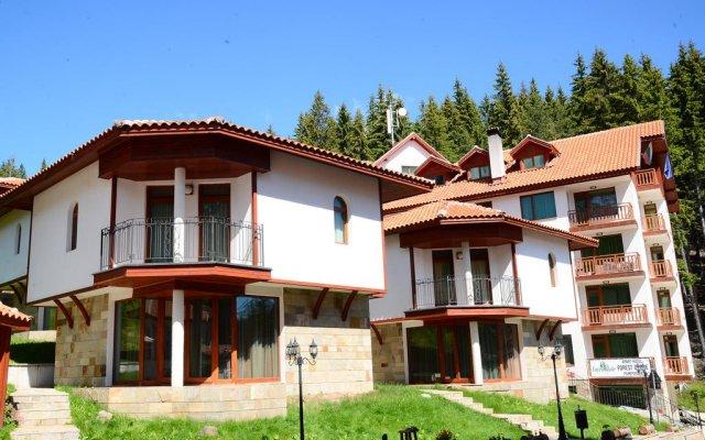 Отель Chalet Raikovski Livadi вид на фасад