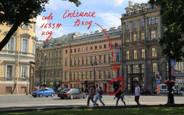Mini Hotel Nevskaya Panorama вид на фасад
