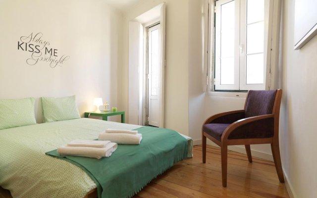 Отель Feels Like Home - Alegria Flat at Príncipe Real Португалия, Лиссабон - отзывы, цены и фото номеров - забронировать отель Feels Like Home - Alegria Flat at Príncipe Real онлайн комната для гостей