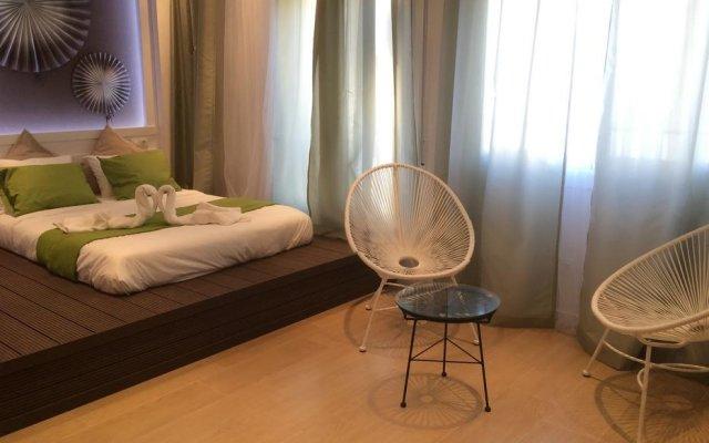 Отель Hola Barcelona Bismark Барселона комната для гостей