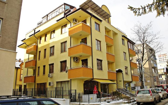 Апартаменты Beauty Apartment вид на фасад