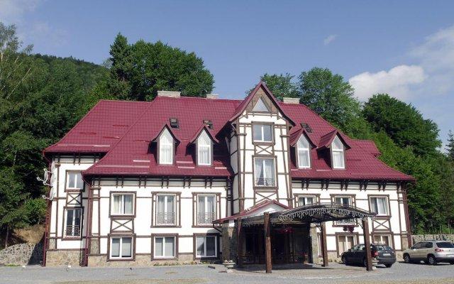 Zolota Forel Hotel вид на фасад